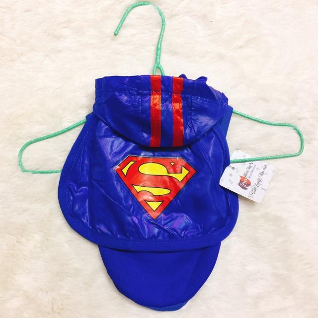 Áo superman có mũ cho chó mèo - 2787631 , 429534459 , 322_429534459 , 80000 , Ao-superman-co-mu-cho-cho-meo-322_429534459 , shopee.vn , Áo superman có mũ cho chó mèo