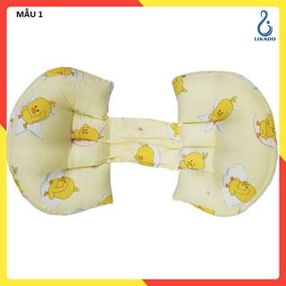 [LIKADO] Gối kê bụng kê lưng cho bà bầu 40 x 22 x 76 cm