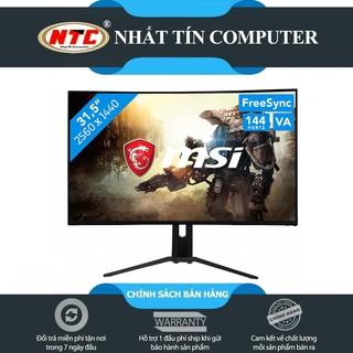 Màn hình máy tính LCD 31.5inch cong tràn viền MSI Optix MAG321CQRV chuẩn 2K 144Hz RGB(Đen) thumbnail