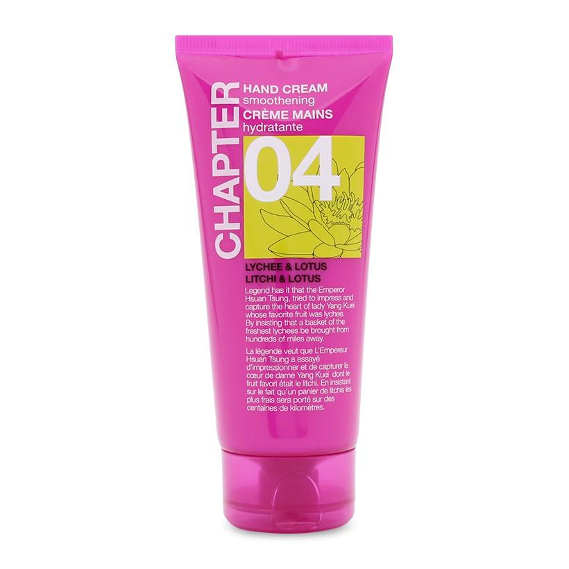 Kem dưỡng da tay hương vải và hoa sen Chapter 04 Hand Cream Lychee & Lotus 100ml