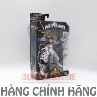 Mô hình siêu nhân Mighty Morphin Power Rangers 6.5-Inch White Ranger Legacy Figure