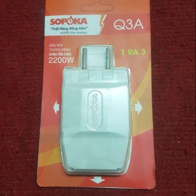 Đầu nối thông minh chịu tải cao Q3A Sopoka. - 22268543 , 2010178123 , 322_2010178123 , 23000 , Dau-noi-thong-minh-chiu-tai-cao-Q3A-Sopoka.-322_2010178123 , shopee.vn , Đầu nối thông minh chịu tải cao Q3A Sopoka.