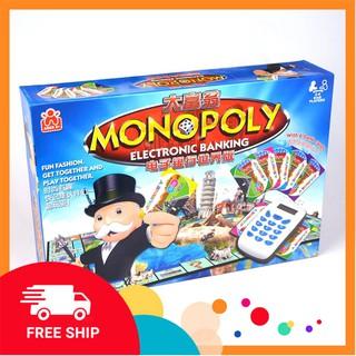 Cờ tỷ phú Monopoly Electronic banking