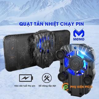 Quạt tản nhiệt điện thoại Memo FL01 Sức gió mạnh tích hợp pin sạc dùng cho mọi loại điện thoại thumbnail