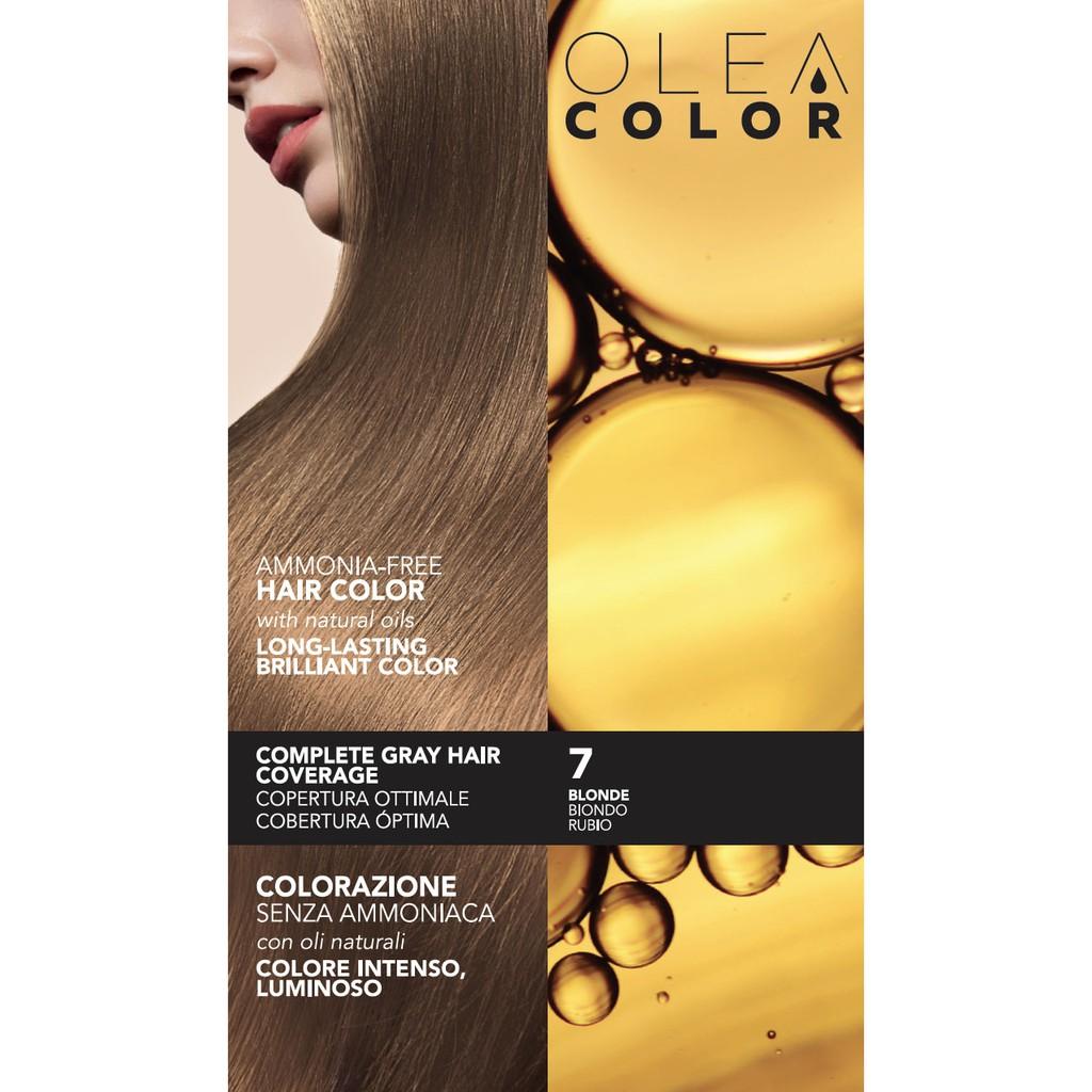 [VÀNG VỪA] Kem nhuộm dưỡng tóc không Amoniac Olea Color ITALY Màu 7 BLONDE - the gioi makeup pro - 3504130 , 969291882 , 322_969291882 , 235000 , VANG-VUA-Kem-nhuom-duong-toc-khong-Amoniac-Olea-Color-ITALY-Mau-7-BLONDE-the-gioi-makeup-pro-322_969291882 , shopee.vn , [VÀNG VỪA] Kem nhuộm dưỡng tóc không Amoniac Olea Color ITALY Màu 7 BLONDE - the g
