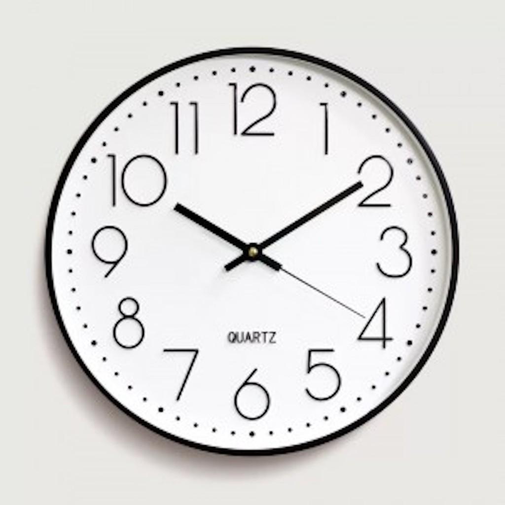 {XA} Đồng hồ treo tương cao cấp chính hãng quatz mạ vàng sang trọng đẳng cấp  - bảo hành 1 năm.