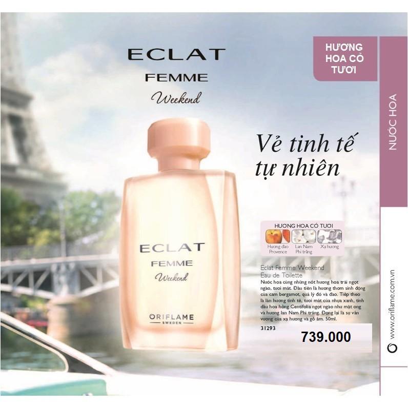31293 Nước Hoa Nữ Eclat Femme Weekend Eau De Toilette