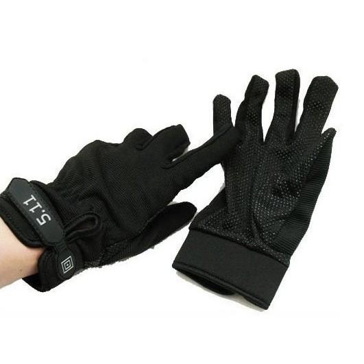 Găng tay 511 full ngón - Găng 511 dài ngón đi xe máy chống nắng đủ size màu đen