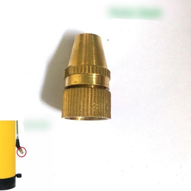 Béc phun bình Dudaco 2L, 4L bằng đồng( béc thẳng, đầu phun sương, vòi phun) Bình điện