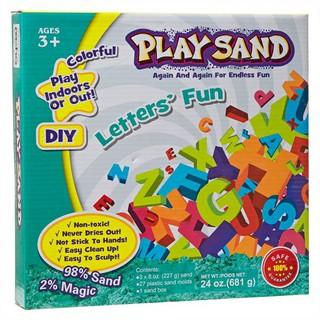 Hộp cát động lực Play Sand Letter's Fun 8032