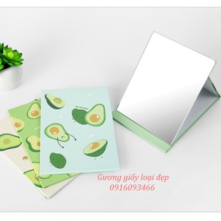 Yêu ThíchGương giấy để bàn trang điểm, gấp gọn mang theo bên người tiện lợi hàng loại 1 mẫu mới nhất