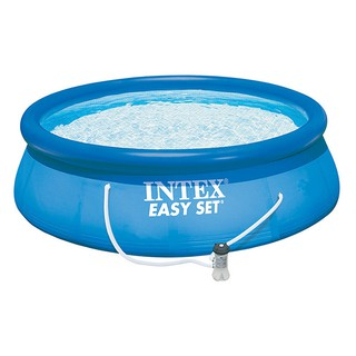 Bể bơi phao gia đình có máy lọc 3m96 84 INTEX 28142 - Kèm bơm