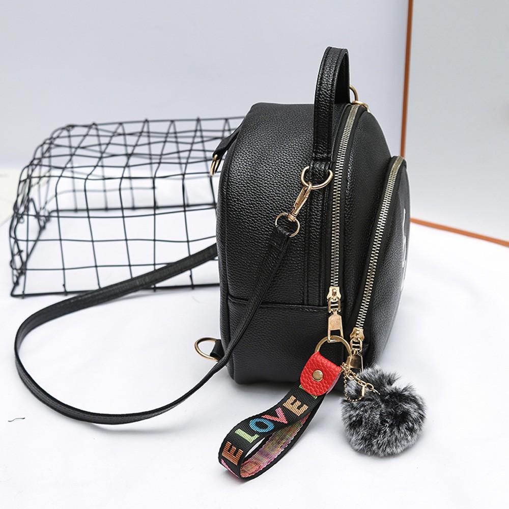 Túi xách da màu trơn sang trọng cho nữ
