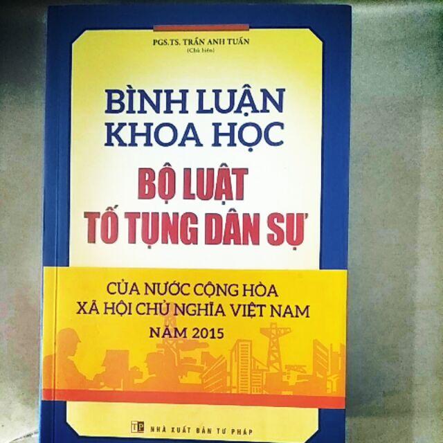 Sách : Bình Luận Khoa Học Bộ Luật Tố Tụng Dân Sự nước CHXHCN Việt Nam năm 2015 - 3283865 , 1050350145 , 322_1050350145 , 240000 , Sach-Binh-Luan-Khoa-Hoc-Bo-Luat-To-Tung-Dan-Su-nuoc-CHXHCN-Viet-Nam-nam-2015-322_1050350145 , shopee.vn , Sách : Bình Luận Khoa Học Bộ Luật Tố Tụng Dân Sự nước CHXHCN Việt Nam năm 2015