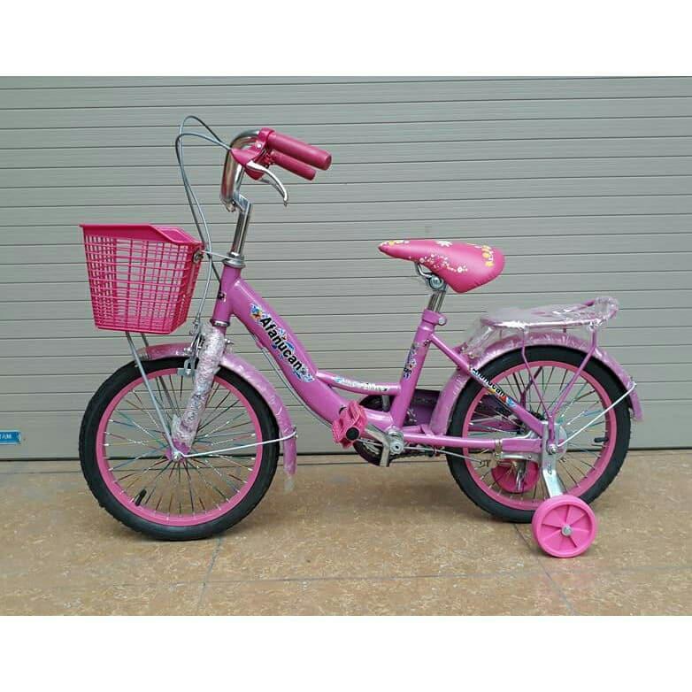 Xe đạp mini nữ cho bé 5-8 tuổi (hàng lắp ráp)