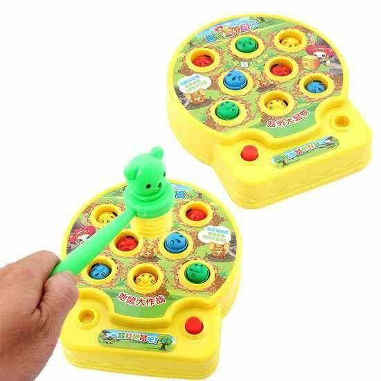 Bộ đồ chơi đập chuột phát nhạc vui tai cho bé yêu- quà trung thu