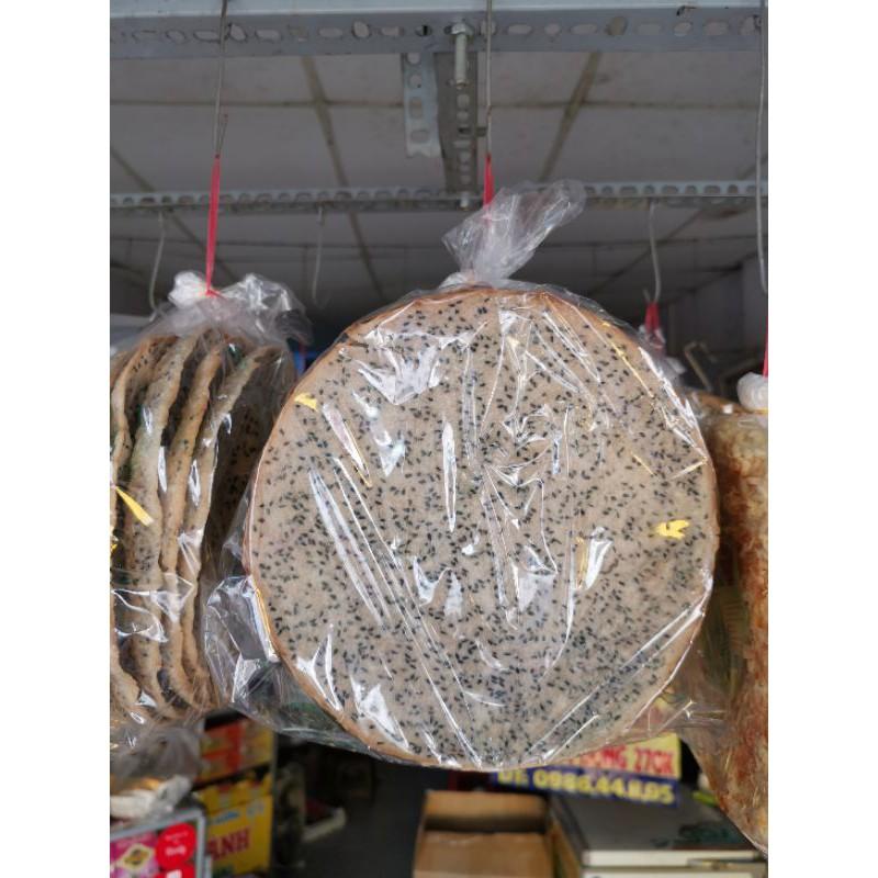 Bánh tráng mè đen nước cốt dừa Tây Ninh. Loại nướng sẵn 160g/5 cái bánh