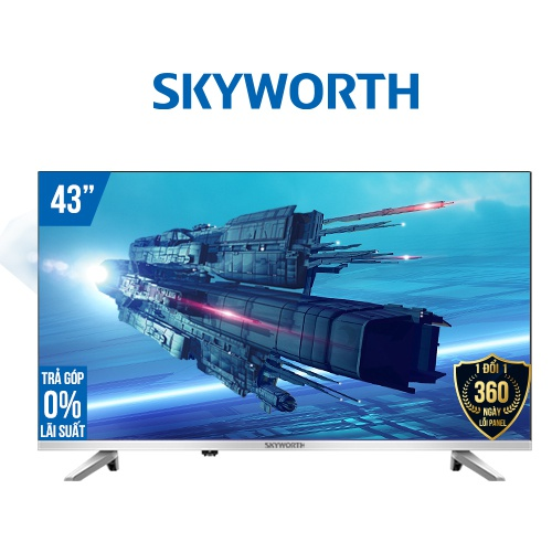 Smart TV Skyworth 43 inch Full HD 43TB5000 - Hàng chính
