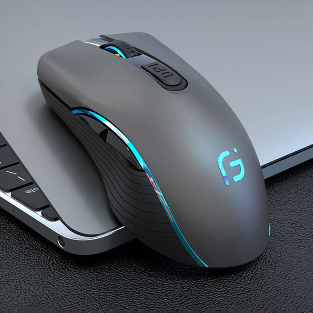Chuột Không Dây Ms X9 Bluetooth 4.0 + 2.4ghz 2 Trong 1 Cho Laptop
