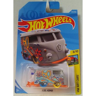 Xe mô hình Hot Wheels Volkswagen Kool Kombi FJW77