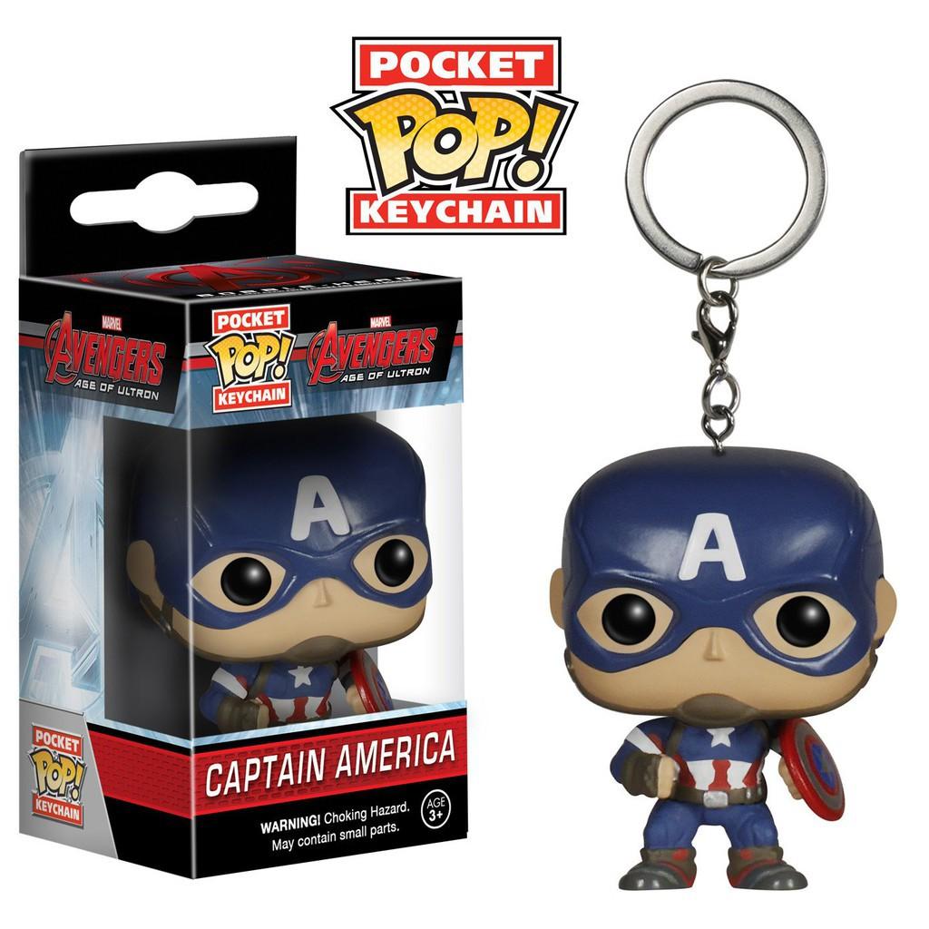 Móc Khóa Funko Pop Iron Man Spider-man Thor Hulk Captain Batman Black Panther Wonder Woman Groot Game of Thrones