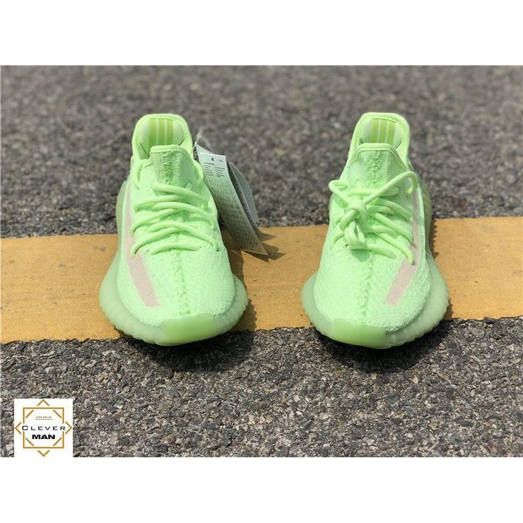 [ tặng tất ] giày thể thao yzy v2 350 xanh _ đủ size nam nữ form đẹp [ full