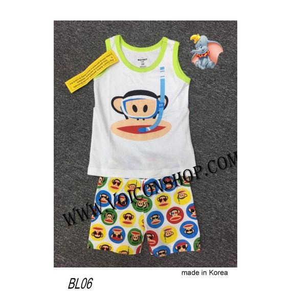 Bộ 3 lô khỉ bãi biển Korea cho bé