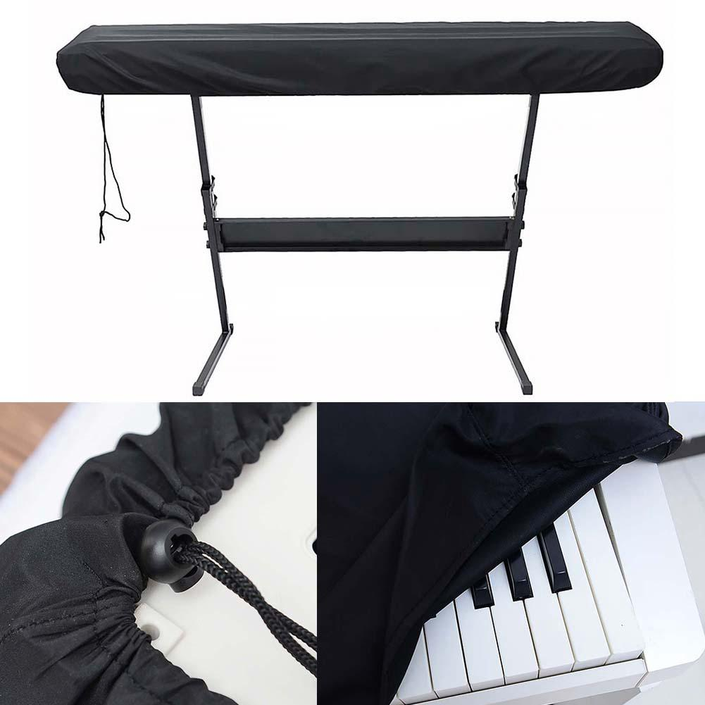 Protective Dustproof Keyboard Cover Practical Drawstring Storage Electronic Piano Dirt-proof Durable For 61/88 Key