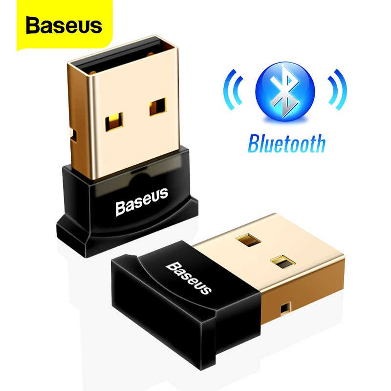 USB Nhận Tín Hiệu Âm Thanh Bluetooth Baseus Hỗ Trợ Blueooth 4.0/ 4.2/ 5.0 Chuyên Dụng Cho Máy Tính