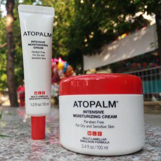 Combo kem Atopalm 100ml và 30ml