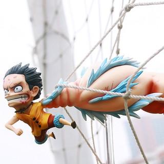Mô Hình Nhân Vật Luffy Trong Phim One Piece Chất Lượng Cao