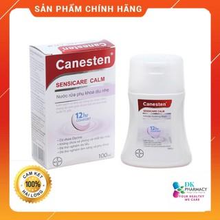 Dung dịch vệ sinh phụ nữ CANESTEN 100ml-Giúp làm sạch vùng kín,mang lại cảm giác tươi mát, phòng bệnh viễm nhiễm âm đạo thumbnail