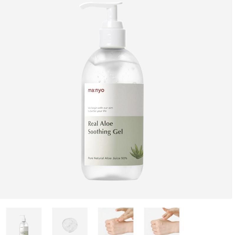 Gel dưỡng đa năng Manyo Real aloe soothing gel