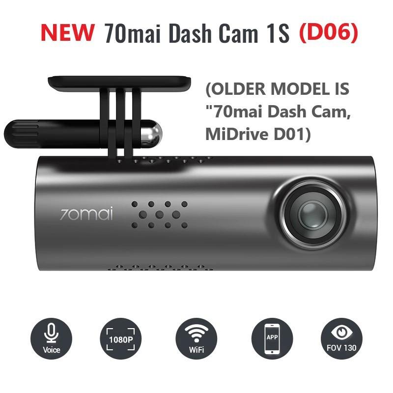 D06 1S 70mai Camera hành trình Xiaomi 70mai Smart Dash Cam 1S
