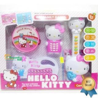 SIÊU TIẾT KIỆM] Bộ 3 nhạc cụ Kitty #1203