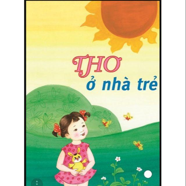 Sách - Thơ ở nhà trẻ