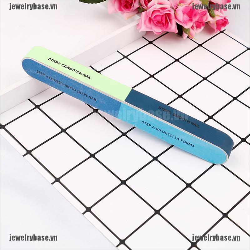Bộ 1 thanh dũa móng tay thiết kế tiện lợi và chuyên dụng