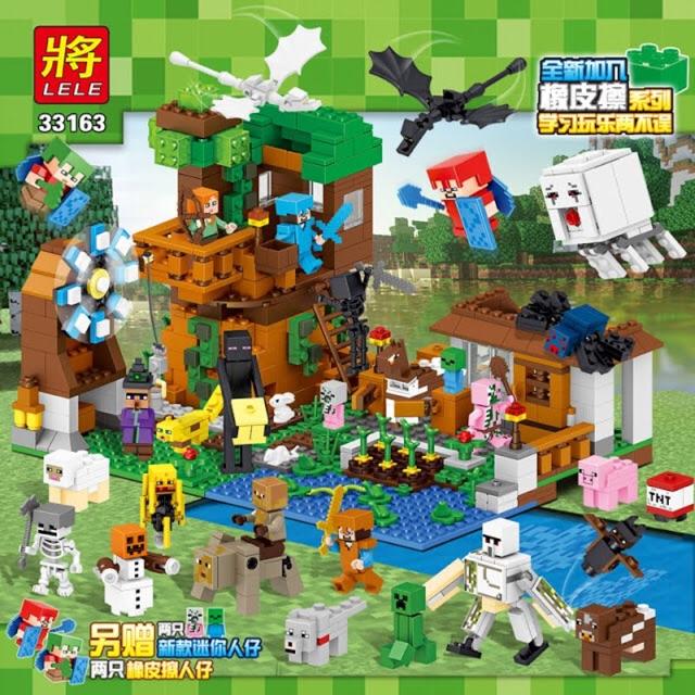 Lego my world 33163- Nhà máy nông trại hiện đại(mới nhất 2018)
