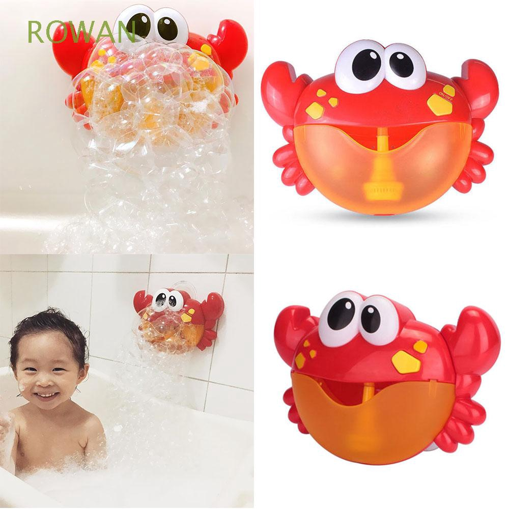 Automated Spout Educational Poll Swimming Soap Kids Christmas Gift Crab Bubble Machine