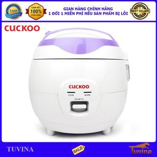 Nồi Cơm Điện Cuckoo CR-0671V 1.0 Lít 1.0L - Hàng Chính Hãng (Bảo Hành Toàn Quốc 2 Năm)