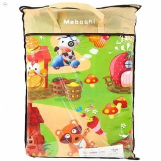 [GIỚI HẠN]Thảm chơi 2 mặt cho bé Maboshi 1m8 x 2m. Chất liệu cotton mút cao cấp