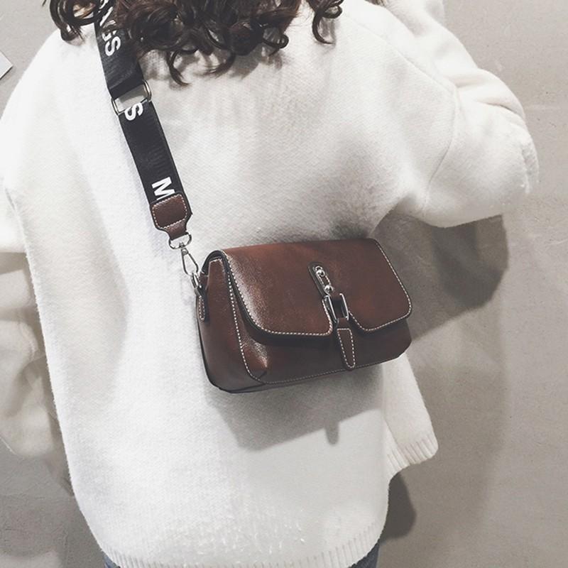 Female bag 2018 new wave fashion broadband small square bag