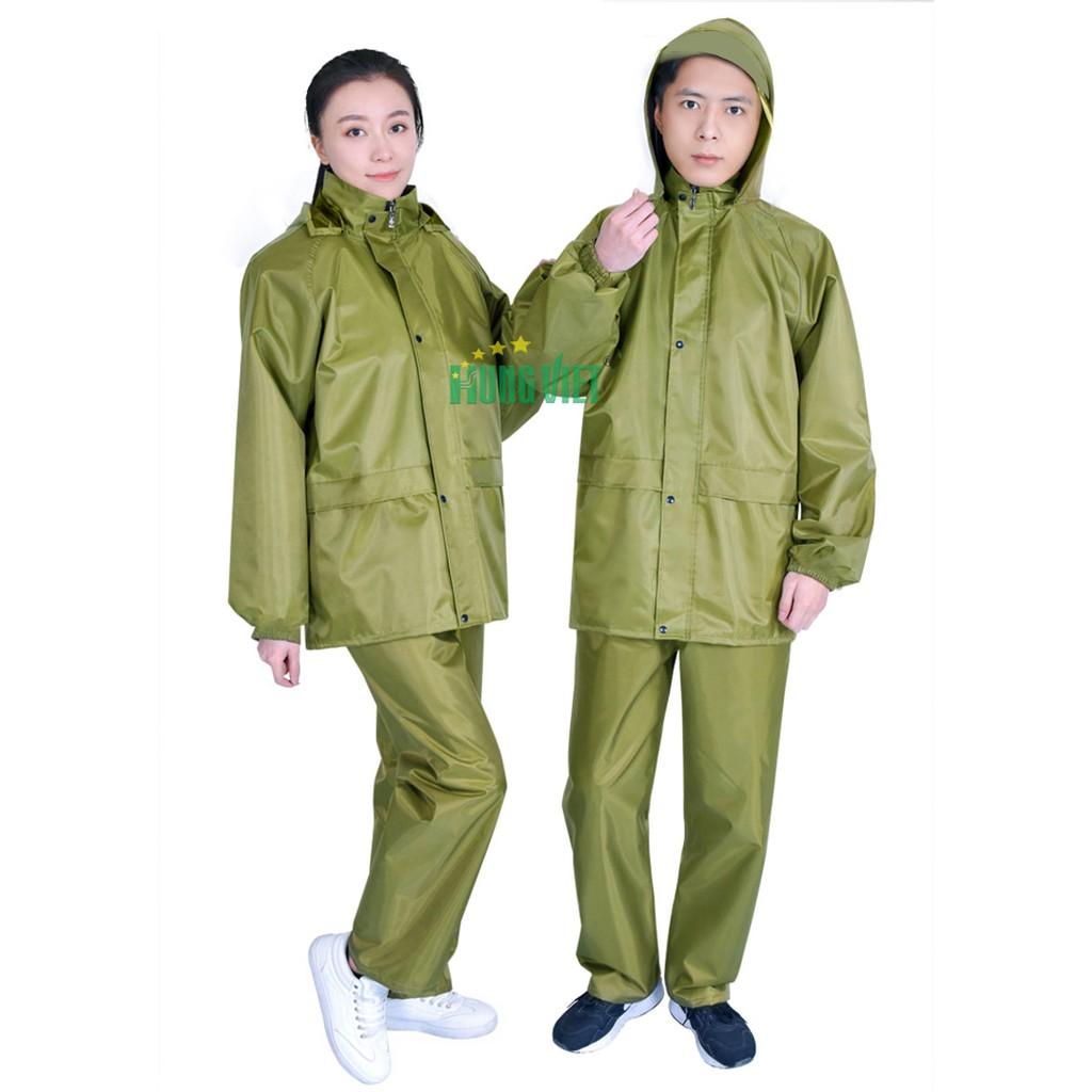 Bộ quần áo mưa vải dù giá rẻ