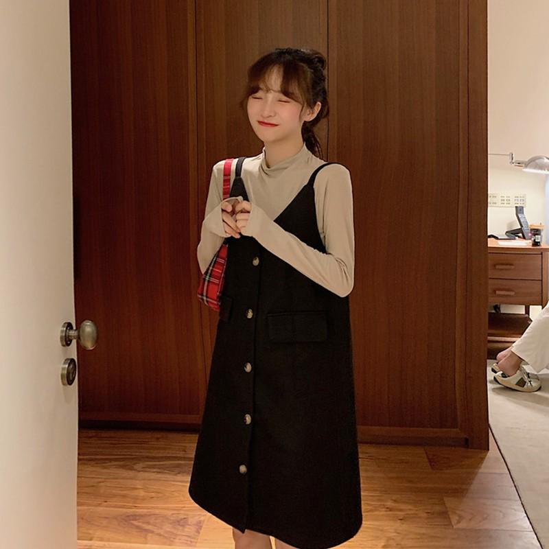 đầm nữ tay dài cổ chữ v thời trang phong cách hàn quốc - 22315098 , 6502836857 , 322_6502836857 , 199900 , dam-nu-tay-dai-co-chu-v-thoi-trang-phong-cach-han-quoc-322_6502836857 , shopee.vn , đầm nữ tay dài cổ chữ v thời trang phong cách hàn quốc