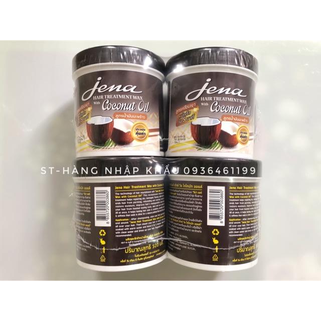[COMBO 2 HỘP]Kem ủ tóc tinh dầu dừa Già Jena Coconut Hair Treatment Wax 500ml