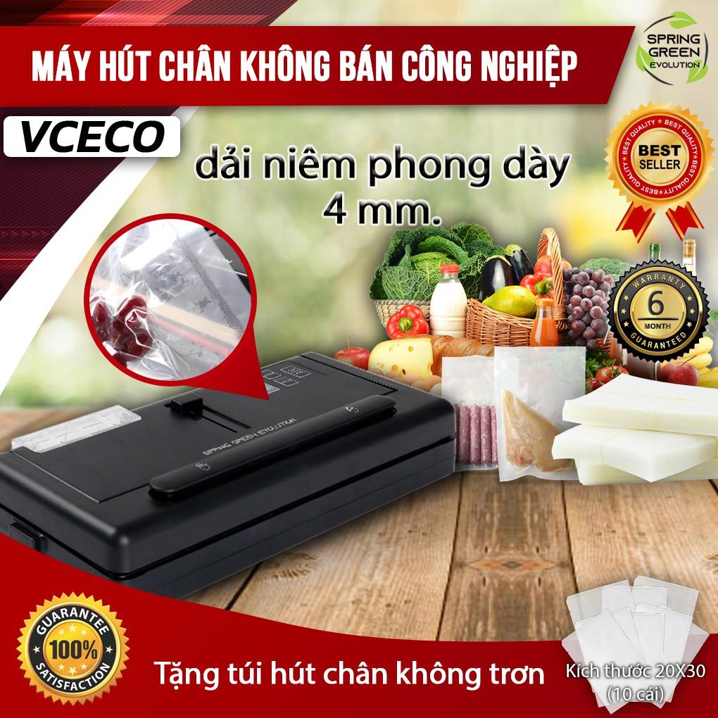 Máy hút chân không VC-ECO. Hút mọi loại túi, không lo kén túi, hút được nước. Hàng SGE Thailand chất lượng cao số 1 !!