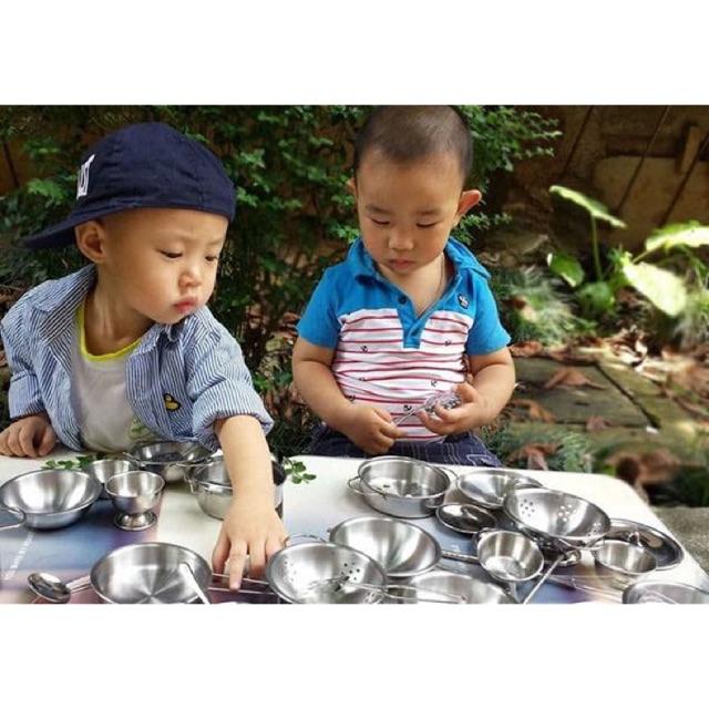 Bộ đồ chơi nấu ăn bằng inox 40 món cho bé - 3331124 , 1214321041 , 322_1214321041 , 250000 , Bo-do-choi-nau-an-bang-inox-40-mon-cho-be-322_1214321041 , shopee.vn , Bộ đồ chơi nấu ăn bằng inox 40 món cho bé