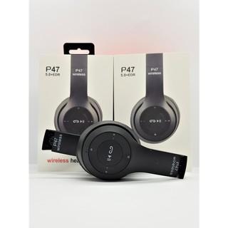 Tai nghe headphone bluetooth P47 âm thanh sống động