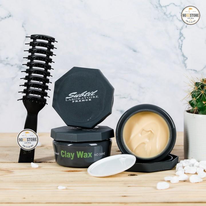 [Chính Hãng][COMBO] Sáp vuốt tóc Clay Wax + Gôm xịt tóc