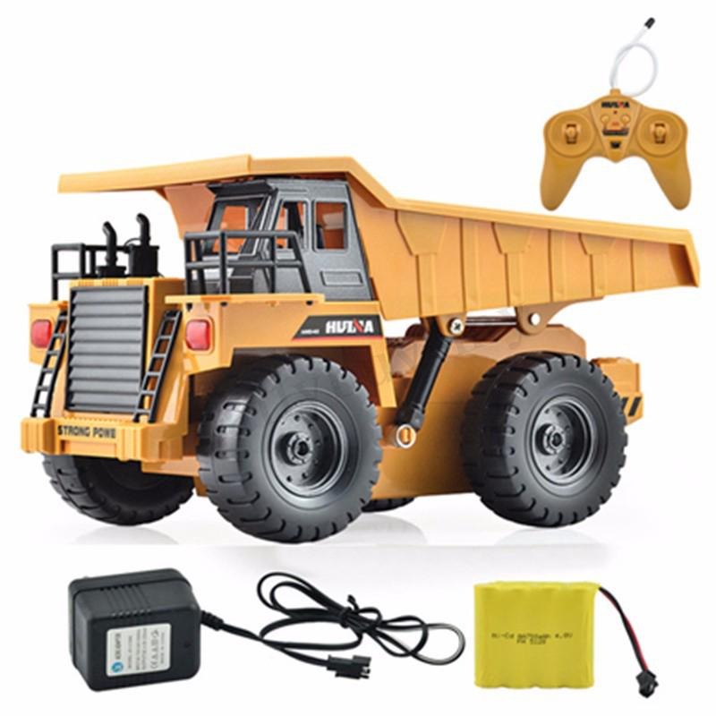 🎉6 Channel Functional Dump Truck Toy Car Vehicle Electric RC Remote Control